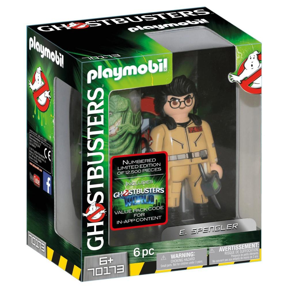 Playmobil - Pogromcy Duchów Figurka do kolekcjonowania E. Spengler 70173