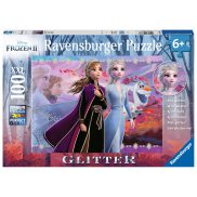 Ravensburger - Puzzle XXL Brokatowe Frozen 2 Kraina Lodu 2 100 elem. 128686