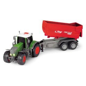 Dickie Farm - Traktor Fendt 939 Vario z przyczepą Światło Dźwięk 3737002