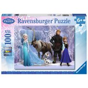 Ravensburger - Frozen Kraina Lodu Lodowa królowa XXL 100 elem. 105168