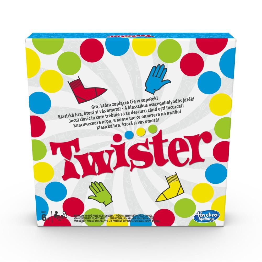 Hasbro - Gra Twister Nowa Wersja 988317890