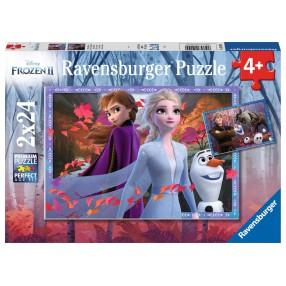 Ravensburger - Puzzle Frozen Kraina Lodu 2 2 x 24 elem. 050109