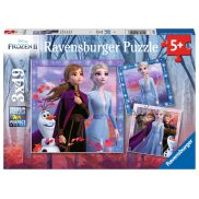 Ravensburger - Puzzle Frozen Kraina Lodu 2 3 x 49 elem. 050116