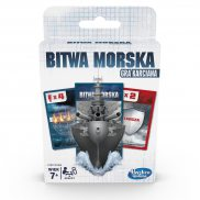 Hasbro - Gra karciana, karty Bitwa morska E7971