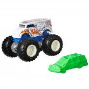 Hot Wheels Monster Truck - Metalowy pojazd Milk Monster GJD92