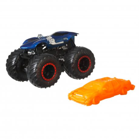 Hot Wheels Monster Truck - Metalowy pojazd Twin Mill GJD77