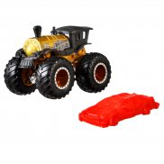Hot Wheels Monster Truck - Metalowy pojazd Loco Punk GJF25