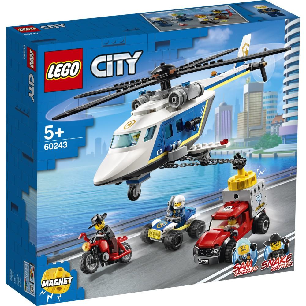LEGO City - Pościg helikopterem policyjnym 60243