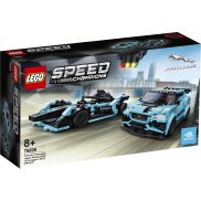 LEGO Speed Champions - Formula E Panasonic Jaguar Racing GEN2 car i Jaguar I-PACE eTROPHY 76898