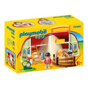 Playmobil - Kuferek Moja przenośna stadnina 70180