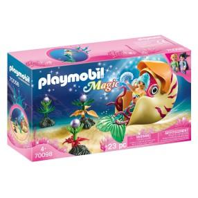 Playmobil - Syrenka w gondoli ze ślimaka 70098