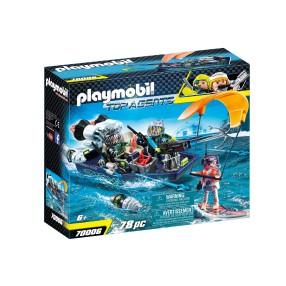Playmobil - TEAM S.H.A.R.K. Łódź z harpunem 70006