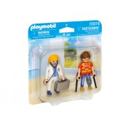 Playmobil - Duo Pack Lekarka i pacjent 70079