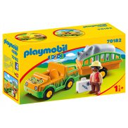 Playmobil - Pojazd do transportu nosorożca 70182