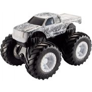 Hot Wheels Monster Trucks Rev Tredz - Pojazd Slinging Ink FYJ75