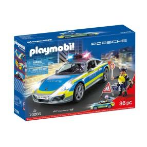 Playmobil - Porsche 911 Carrera 4S Policja 70066