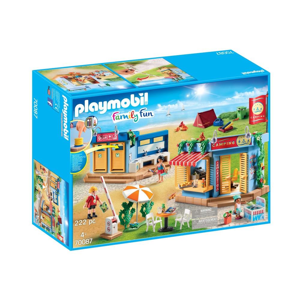 Playmobil - Duży plac kempingowy 70087
