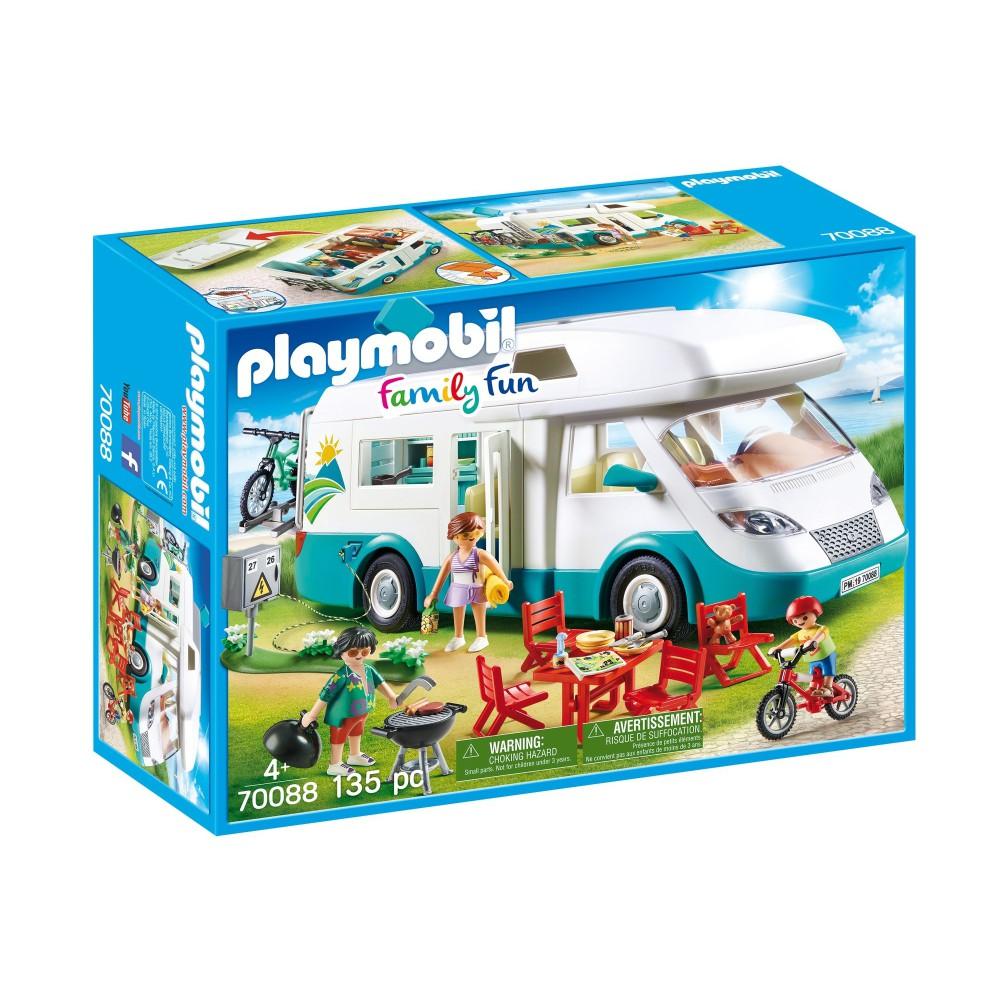 Playmobil - Rodzinne auto kempingowe 70088