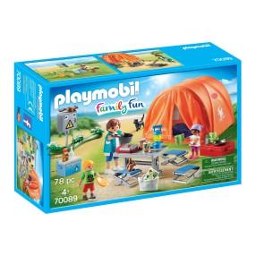 Playmobil - Rodzina na kempingu 70089