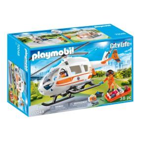 Playmobil - Helikopter ratowniczy 70048