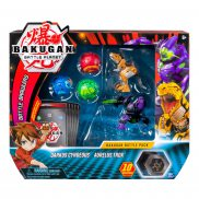 Bakugan Battle Planet - Battle Brawlers Mega Zestaw 5-Pak + Karty Darkus Cyndeous Aurelus Trox 20108832