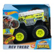 Hot Wheels Monster Trucks Rev Tredz - Pojazd 5 Alarm GBV11