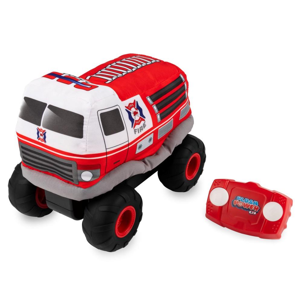 Spin Master - Mój pierwszy wóz strażacki Plush Power RC 6055131