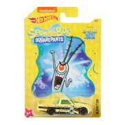 Hot Wheels SpongeBob - Samochodzik Circle Trucker Plankton GBB34