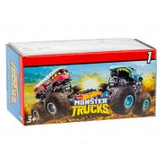 Hot Wheels Monster Trucks - Metalowy pojazd niespodzianka Seria 1 GPB72 01