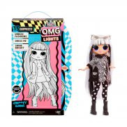 L.O.L. SURPRISE - O.M.G. LOL Lalka Fasion Groovy Babe Lights Series OMG 565154