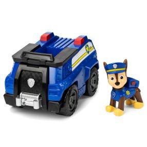 Psi Patrol - Pojazd z figurką Chase Wóz policyjny 20114321