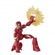 Hasbro Avengers Bend and Flex - Figurka 15 cm Iron Man E7870