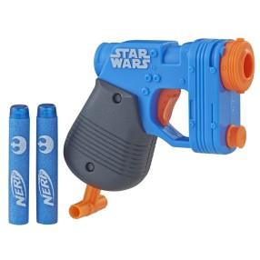 Hasbro Nerf N-Strike - Wyrzutnia Microshots Star Wars Rey E2032