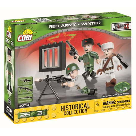 COBI Historical Collection WWII - Red Army - Winter 2032