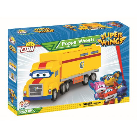 COBI Super Wings - Poppa Wheels 25137