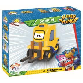 COBI Super Wings - Wózek widłowy Sammy Widłek 25138