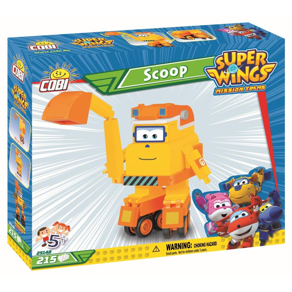 COBI Super Wings - Robot Koparka Scoop Kopek 25148
