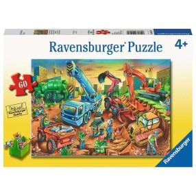 Ravensburger - Puzzle Ekipa Budowlana 60 elem. 095179