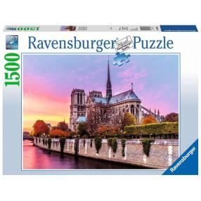 Ravensburger - Puzzle Malownicze Notre Dame 1500 elem. 163458