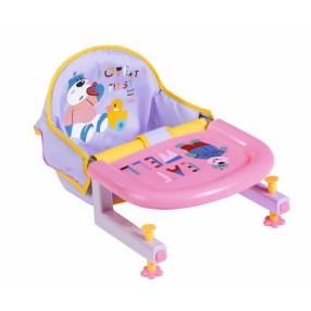 BABY born - Krzesełko do karmienia przy stole dla lalki 828007