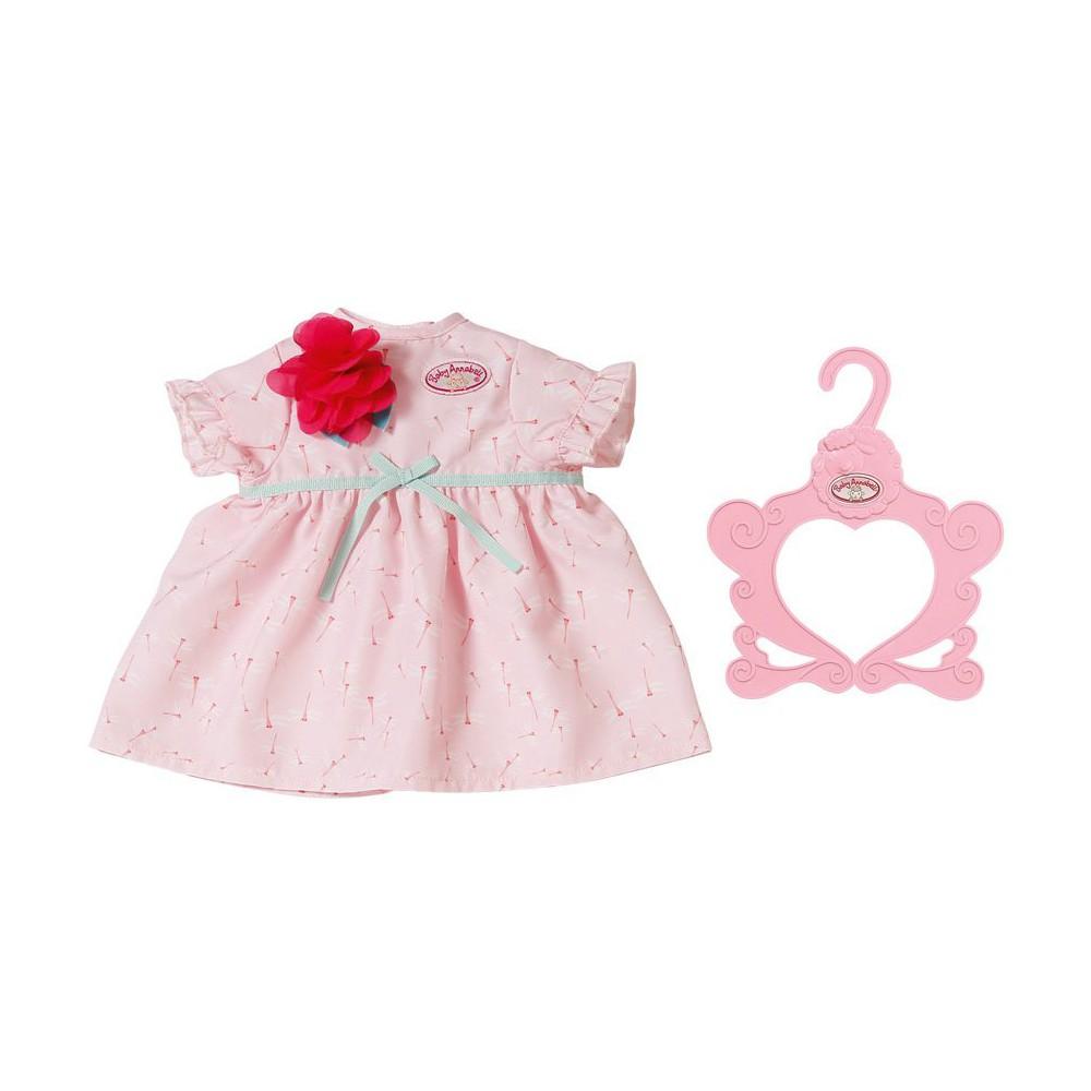 Baby Annabell - Ubranko sukienka z kwiatkiem dla lalki 43 cm 703083 A