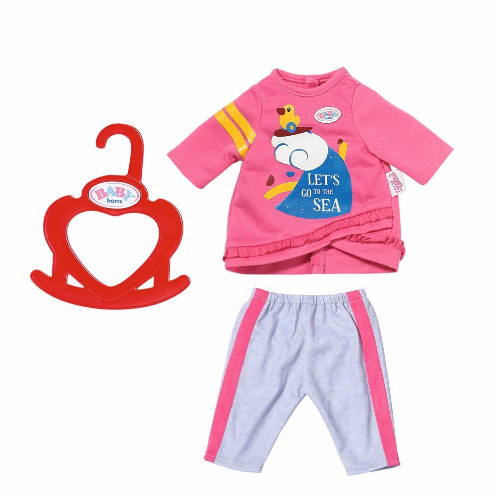 BABY born - Wygodne ubranko Dresik dla lalki 36 cm 827932 A