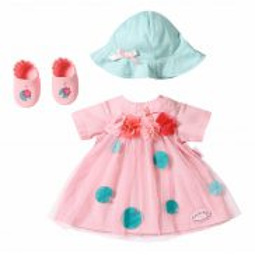 Baby Annabell - Zestaw ubranek Deluxe Letnia Sukienka dla lalki 43 cm 703052