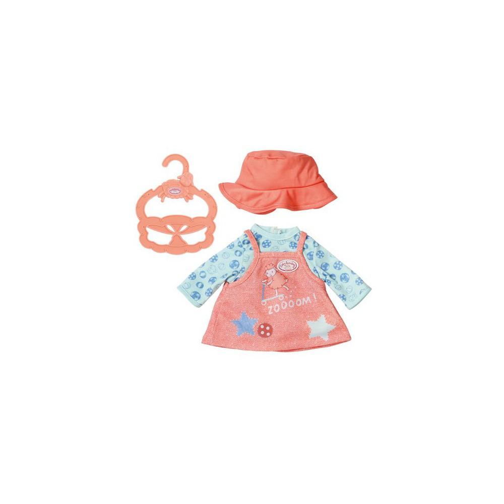 Baby Annabell - Wygodne ubranko Sukienka dla lalki 36 cm 702994 A
