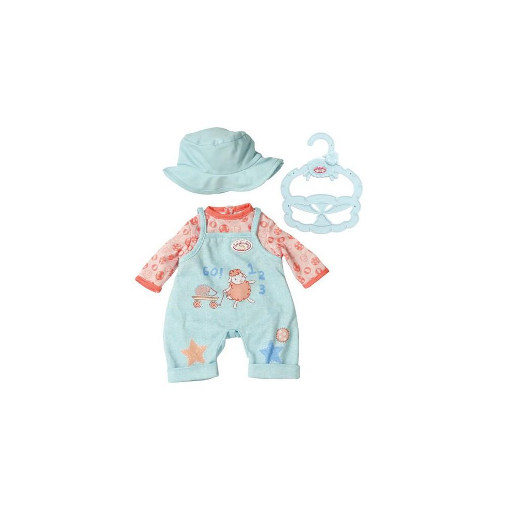 Baby Annabell - Wygodne ubranko Ogrodniczki dla lalki 36 cm 702994 B
