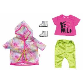 BABY born - Zestaw ubranek na deszczowe dni Deluxe dla lalki 43 cm 828328