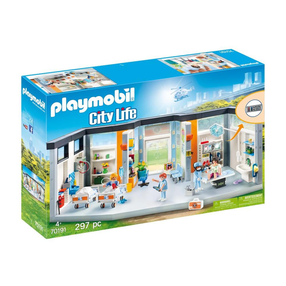 Playmobil - Szpital z wyposażeniem 70191