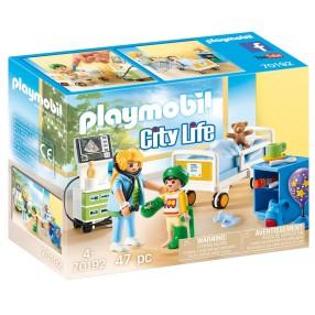 Playmobil - Szpitalny pokój dziecięcy 70192