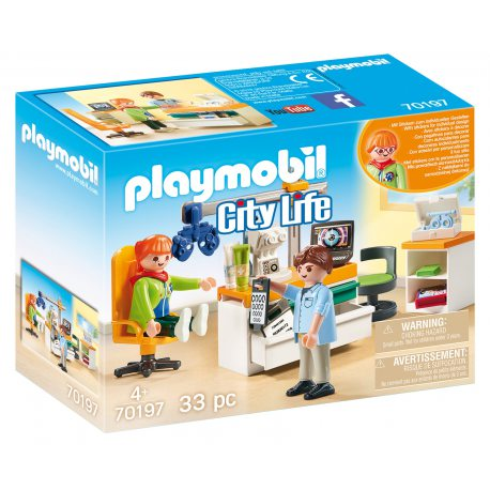 Playmobil - Okulista 70197
