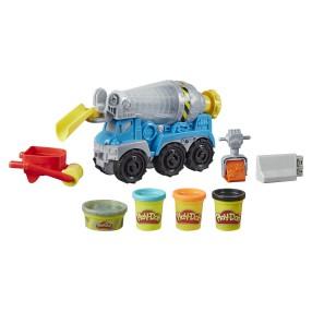 Play-Doh Wheels - Ciastolina Zestaw betoniarka E6891